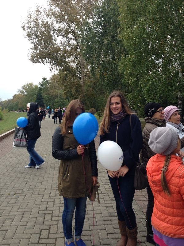 Студенты ТУСУРа поздравили томичей сДнём города
