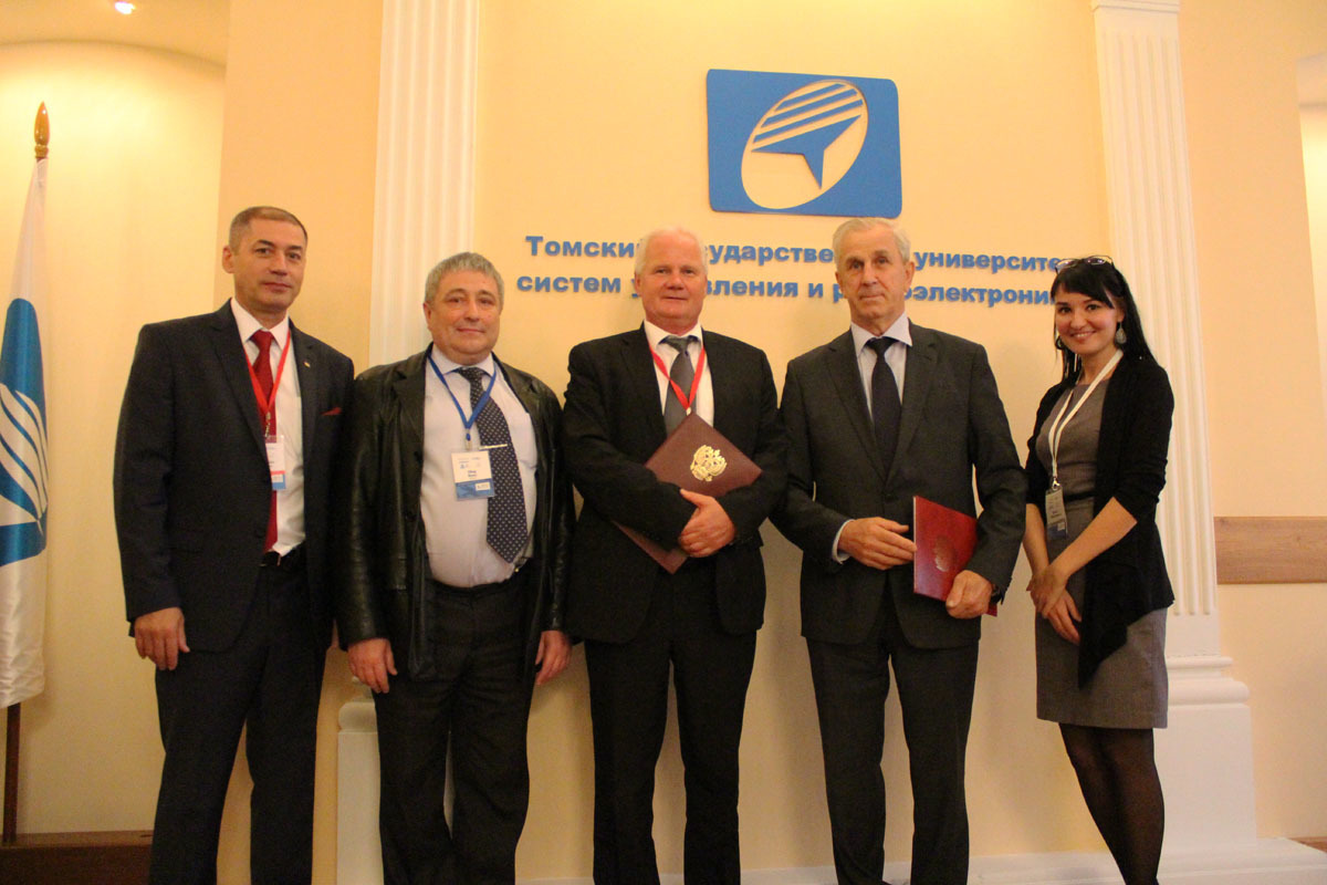Врамках XIIВсемирной конференции Ассоциации Тройной Спирали было подписано соглашение осотрудничестве между ТУСУРом иУниверситетом прикладных наук, технологии ипроектирования (г. Висмар, Германия)
