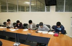 Встреча студентов изЯпонии спредставителями инновационной инфраструктуры ТУСУР