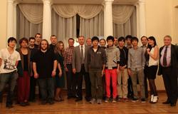 Дляобучения вмеждународной Летней школе ТУСУРа вТомск приехали студенты изЯпонии иФранции