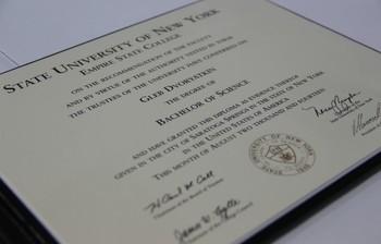 Программа двойных дипломов сГосударственным университетом штата Нью-Йорк (SUNY)