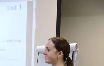 Ссередины октября усотрудников ипреподавателей Института инноватики ТУСУРа начались занятия поанглийскому языку