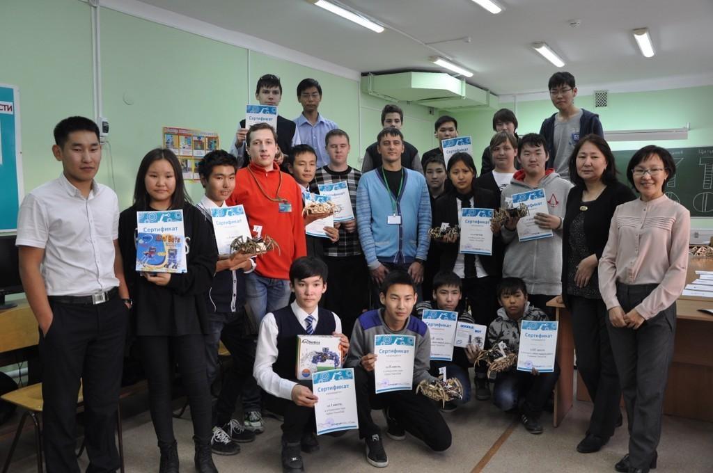 Итоги «Технолаба», прошедшего врамках мероприятия «Дни Томской области вРеспублике Саха (Якутия)»