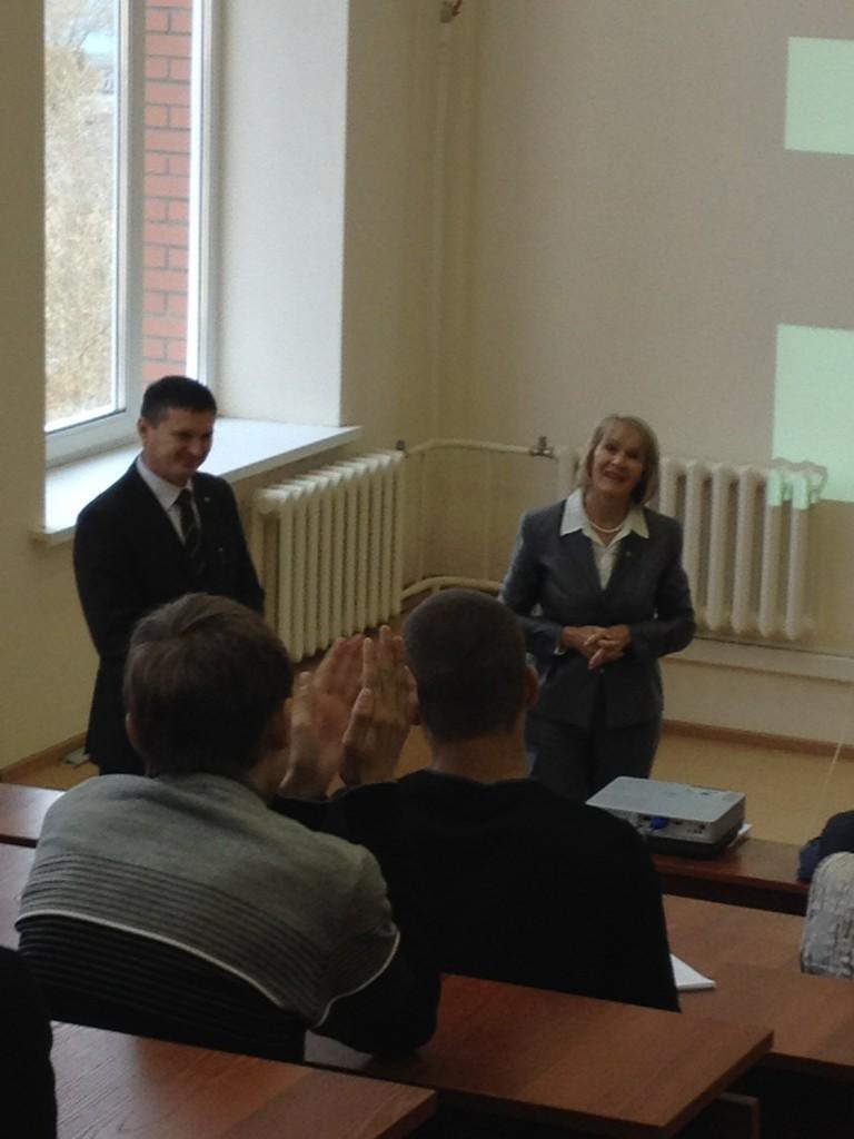 ВТУСУРе прошла открытая лекция «О проектах развития информационного общества вТомской области»