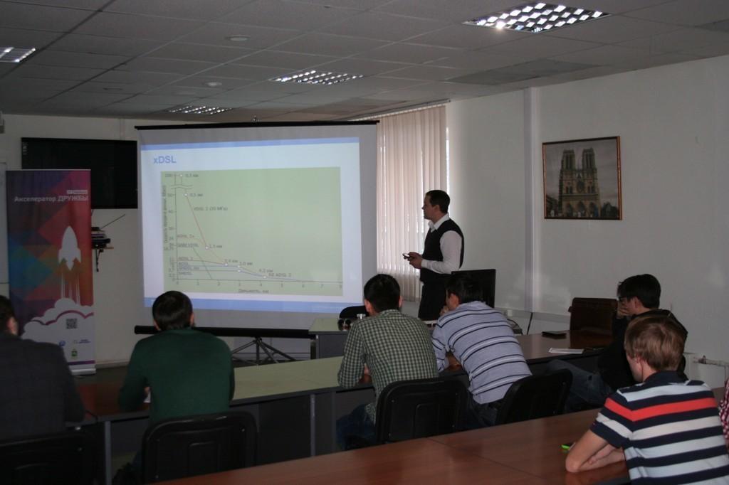 ВМСБИ «Дружба» ТУСУРа состоялись лекции инновационного некоммерческого проекта «Университетская сеть»