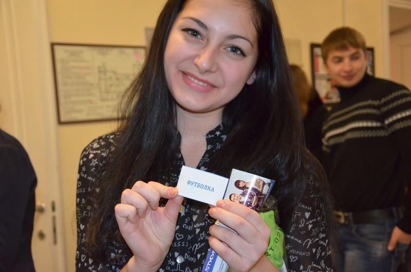 Розыгрыш призов среди школьников врамках выставки-конкурса научных достижений молодых учёных ТУСУРа «РОСТ. Up– 2014»