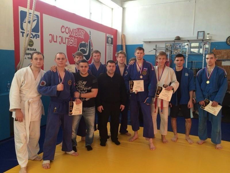 Вспорткомплексе ТУСУР прошёл чемпионат поБоевому Джиу-Джитсу