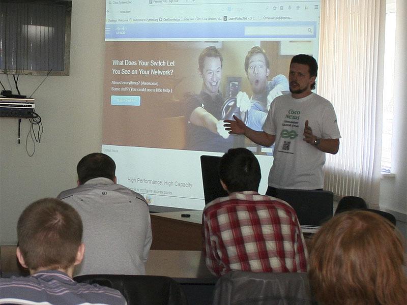 Инструктор Сетевой академии Cisco ТУСУР Валерий Беликов стал победителем конкурса «Навстречу ИТ»