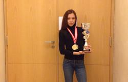 Студентка ТУСУРа заняла 1место намеждународных соревнованиях