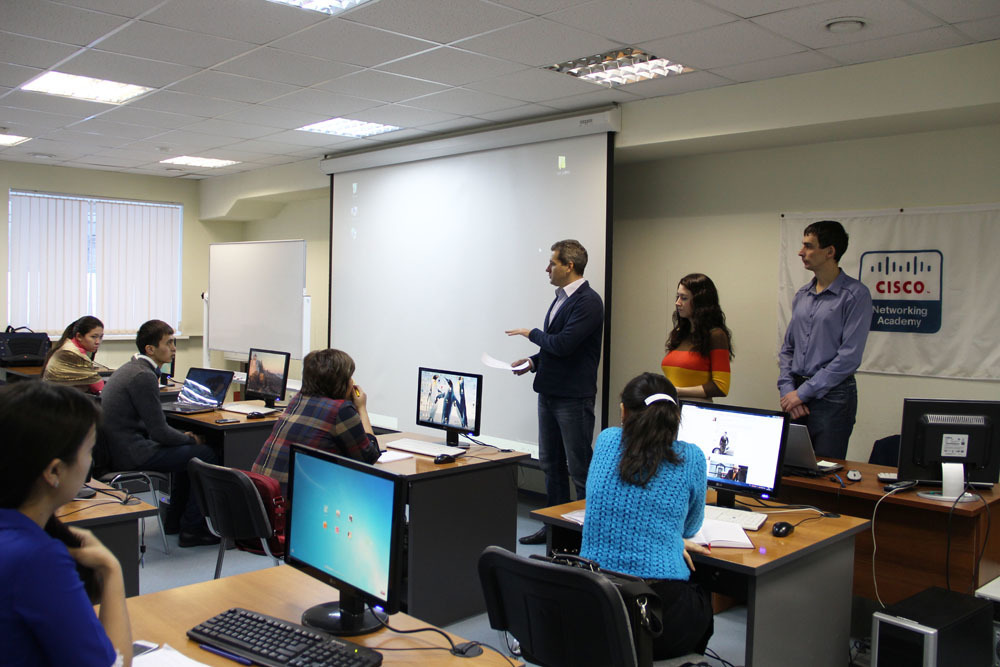ВЦентре международной IT-подготовки проходят обучение преподаватели исотрудники «Торгово-экономического колледжа Казпотребсоюза» Республики Казахстан, г.Астана