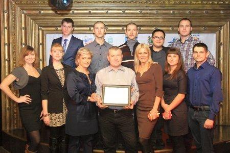 Клубу аквалангистов «Наяда» ТУСУР вручён золотой Почётный знак «Гордость ислава»