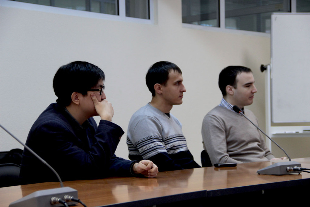 28января состоялась защита проекта студента изПакистана, проходившего зимнюю стажировку вТУСУРе