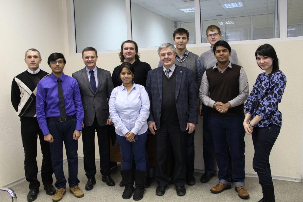 15января состоялась защита проектов студентов изИндии, проходивших зимнюю стажировку вТУСУРе