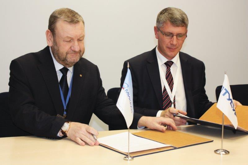 ТУСУР и«Микран» подписали протокол опродолжении Договора осовместной научно-технической ипроизводственной деятельности