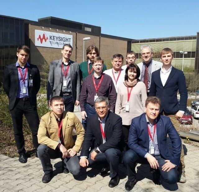 Представители ТУСУР знакомятся сЕвропейским Сервисным Центром Keysight Technologies