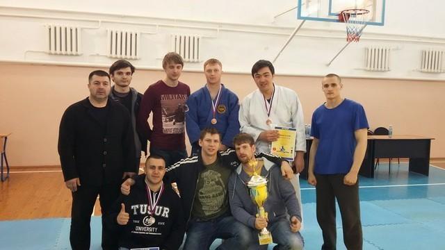 Результаты Открытого Чемпионата ТУСУР побоевому Дзю-дзютцу