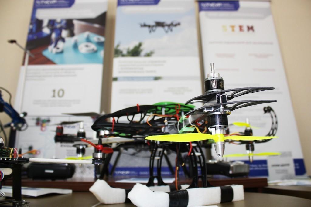 Навыставке лучших робототехнических достижений Томской области ТУСУР представил наибольшее количество экспонатов