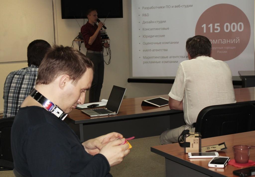 ВСБИ «Дружба» участники бизнес-акселератора StartupLab представили проекты инвесторам