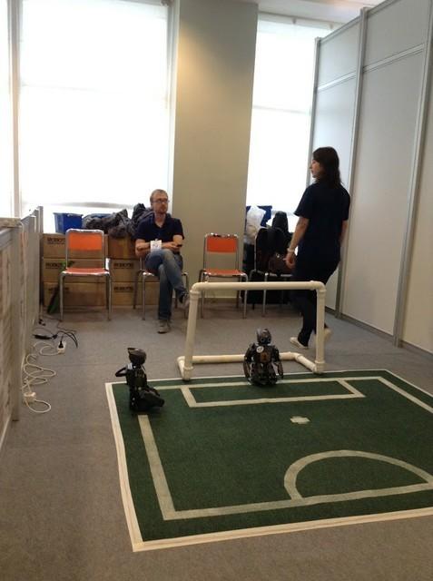 ТУСУР планирует развивать интерактивный проект «Дом роботов», который впервые былпредставлен наIT-Форуме вХМАО