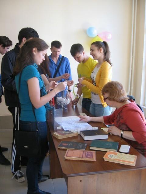 24апреля вбиблиотеке ТУСУРа прошла «Библионочь-2015»
