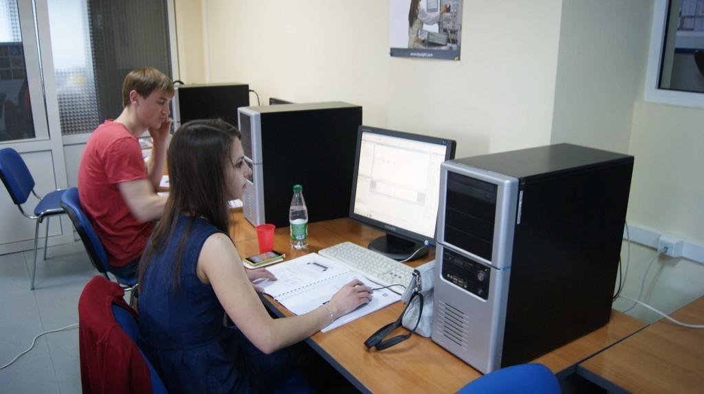 Состоялся первый тренинг, организованныйнаучно-образовательным центром «ТУСУР-Кейсайт»