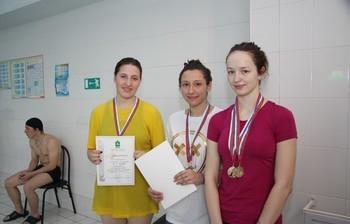 Двойная победа студентки ТУСУР нагородской молодежной Универсиаде поподводному спорту