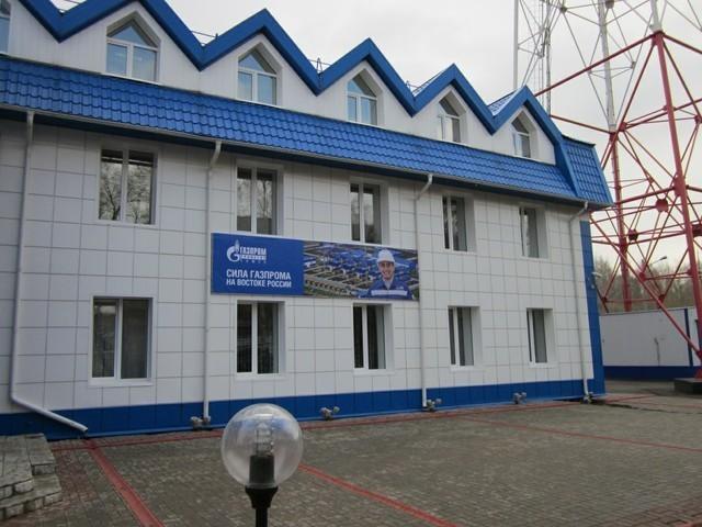 Здание управления связи ООО «Газпром трансгаз Томск