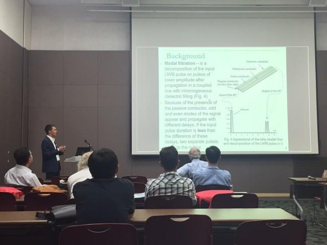 Сотрудник НИЛ«БЭМС РЭС» принял участие вАзиатском симпозиуме поэлектромагнитной совместимости «ASIAEM 2015»