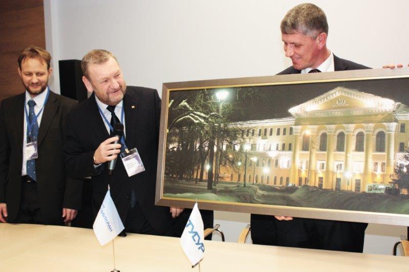 Пресс-релиз от26 марта 2015г. ТУСУР и«Микран» подписали протокол опродолжении Договора осовместной научно-технической ипроизводственной деятельности