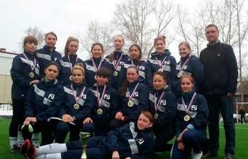 Женская сборная ТУСУР – Чемпион Томской области пофутболу