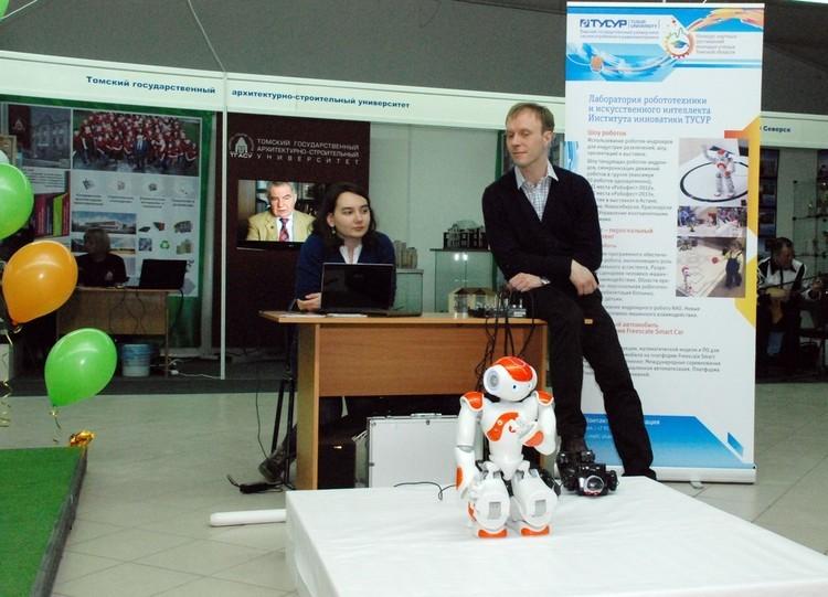 ТУСУР наXIV Межрегиональной выставке-ярмарке «Образование. Карьера. Занятость»