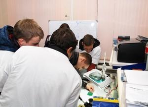 Учебная лаборатория тонкопленочной электроники