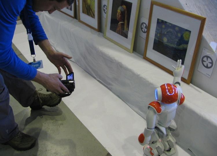 Выступление делегации ТУСУРа наробототехническом фестивале «Роботех» (Красноярск)