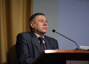 Председатель комитета по развитию инноваций и предпринимательства администрации Томска Г. П. Казьмин