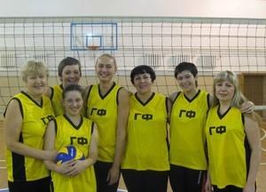 Команда ГФ - 1 место, волейбол, женщины