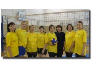 Команда ФСУ - 3 место, волейбол, женщины