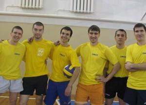 Команда ФСУ -3 место, волейбол, мужчины