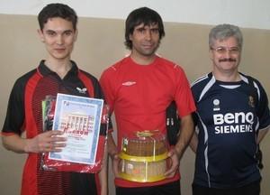 Команда Микран - НИИ СЭС - 1 место, настольный теннис, мужчины