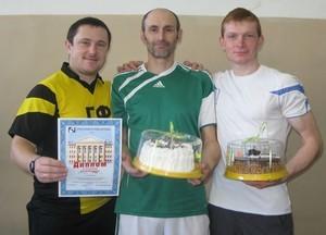 Команда ГФ - 2 место, настольный теннис, мужчины