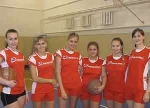 Команда Микран - НИИ СЭС - 2 место, баскетбол, женщины
