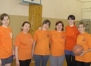 Команда ФВС - 3 место, баскетбол, женщины
