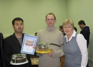 Команда ГФ - 2 место, шахматы