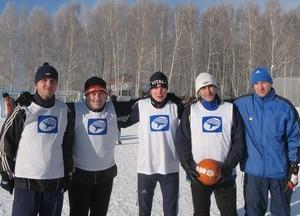 Команда ГФ - 1 место, футбол
