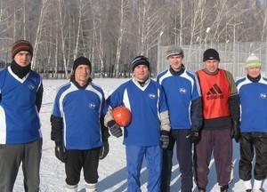 Команда РТФ - 2 место, футбол