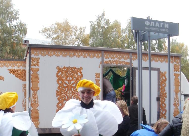 Студенты гуманитарного факультета наVI Томском карнавале