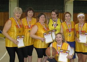 Баскетбол, женщины, 3 место