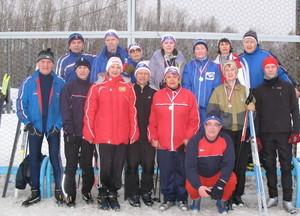 Лыжные гонки, 2 место