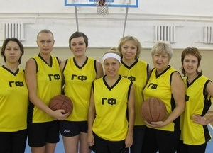 Команда ГФ - 1 место, баскетбол, женщины