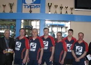 Команда АХУ - 1 место, дартс