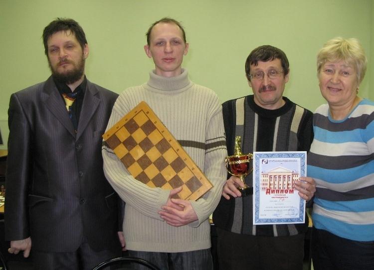 Команда ГФ - 1 место, шахматы